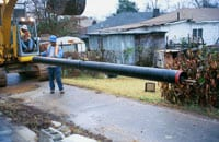 Non-Restrained Joint Ductile Iron Pipe