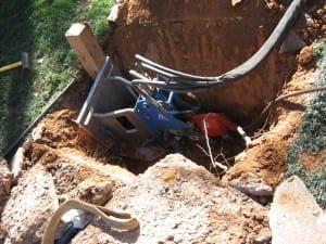 Grundotugger lateral pipe bursting tool