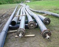 Replace over 23,000 feet of deteriorating water pipe.