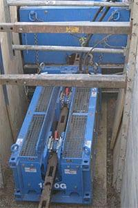 Grundoburst 1250G Static Pipe Bursting Machine.
