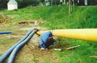Directional Drilling Percussion Gas Main Germany