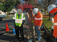 Use of the trenchless bursting applications helps the city remain socially and fiscally responsible to its residents.