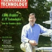 Trenchless Technology Magazine cover with Chris Brahler