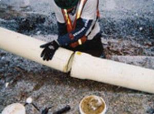 Grundoburst pipe bursting restrained joint