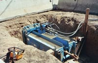 Pacific Liners Static Pipe Bursting