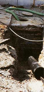 Pipe Bursting Breaks