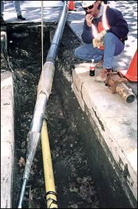 Pipe Bursting PG&E