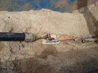 J Fletcher Creamer Ductile Iron Sludge Force Main to HDPE
