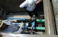 Static Pipe Bursting
