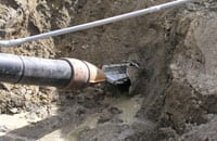 Static Pipe Bursting McGuire