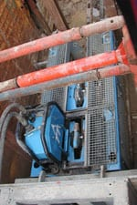 Swage Lining, Grundoburst Static Bursting Machine