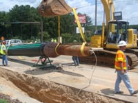 Grundocrack Pipe Bursting Tool.