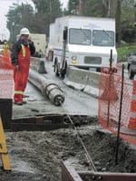Trenchless Sewer Replacement
