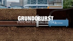 Grundoburst Static Pipe Bursting Animation