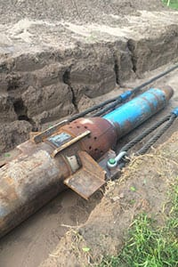Laney Directional Drilling uses Percussive Force