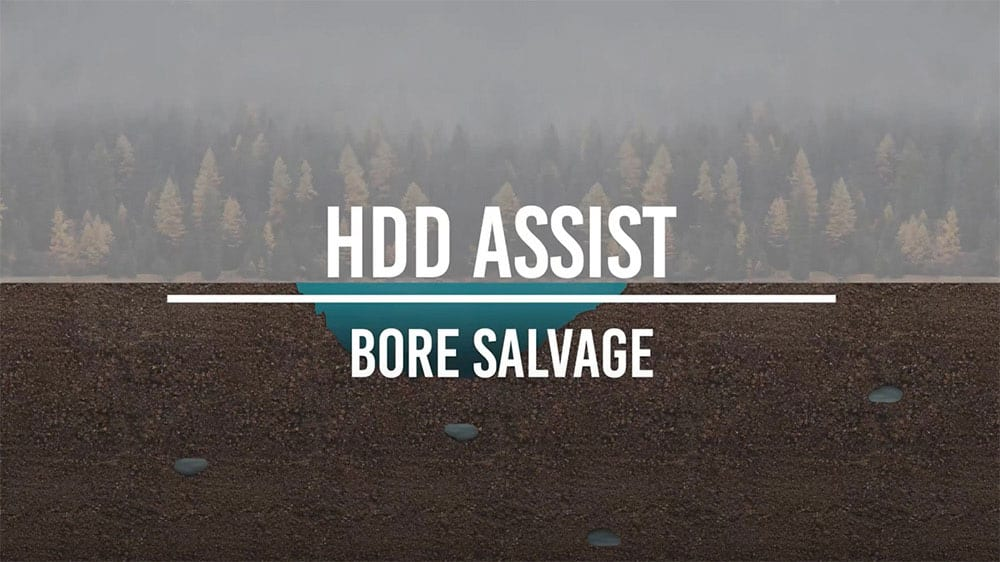 Hdd Assist Bore Salvage Animation