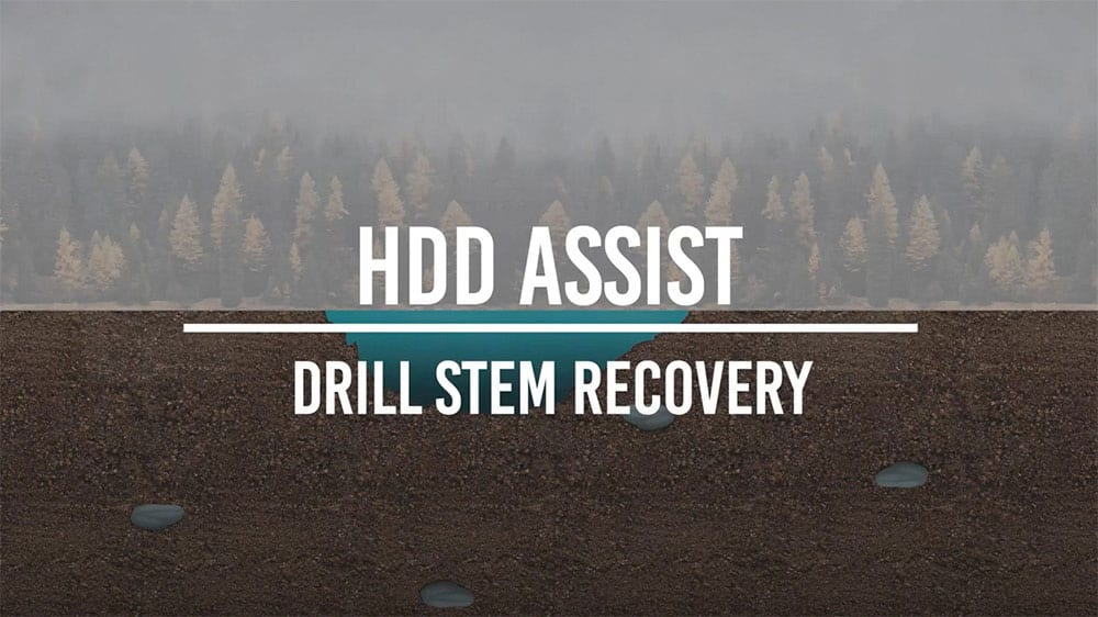 Hdd Assist Drill Stem Recovery Animation